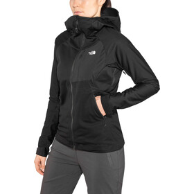 The North Face Impendor Windstopper Hoody Jacket Dame tnf black